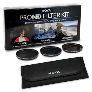 HOYA PRO ND Filter Kit (ND8, ND64, ND1000) 58mm